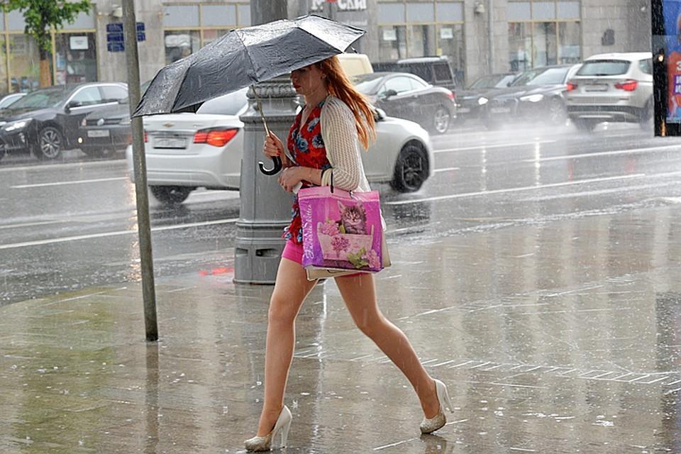 В столице ожидаются грозы и дожди
