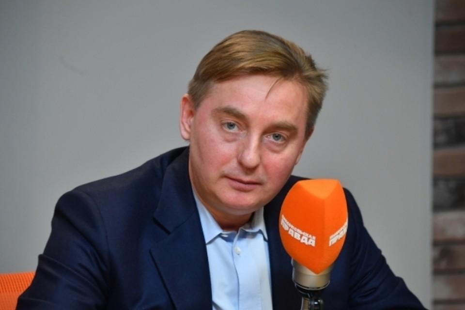 Руководитель департамента природопользования и охраны окружающей среды Москвы Антон Кульбачевский