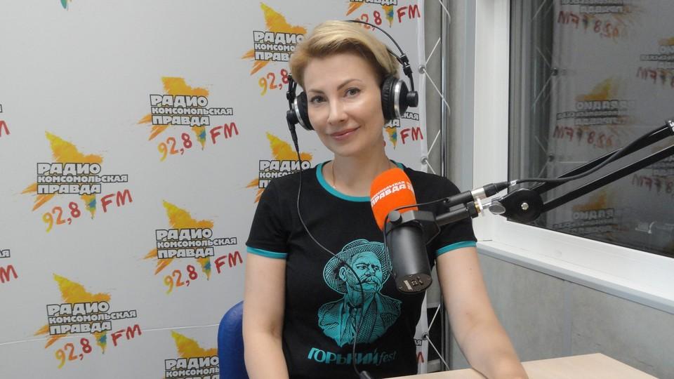 директор департамента культуры администрации Нижнего Новгорода Наталья Суханова
