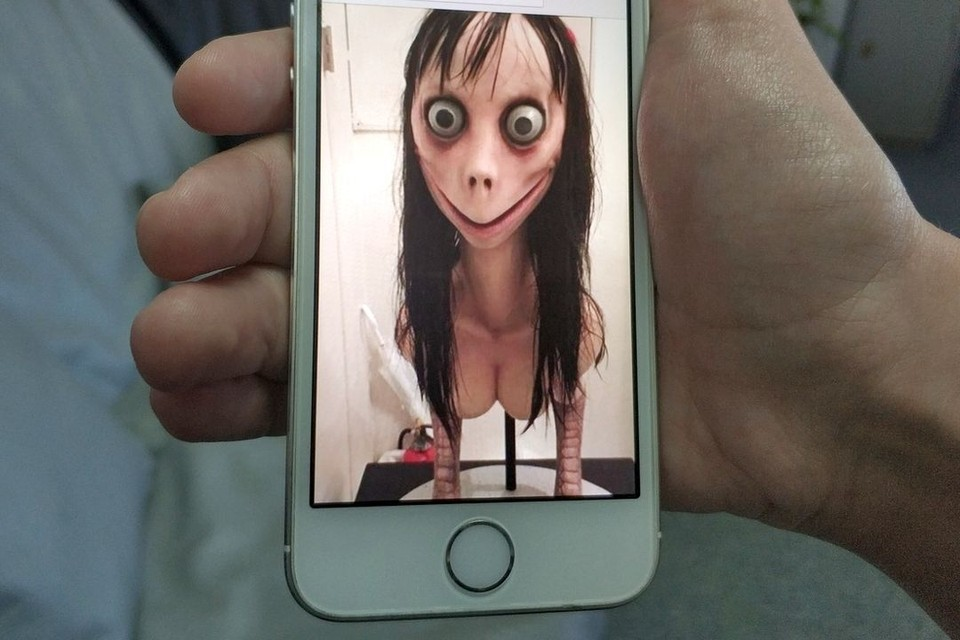 В качестве аватарки люди, завлекающие подростков в Momo, используют картинку японского художника Мидори Хаяси.