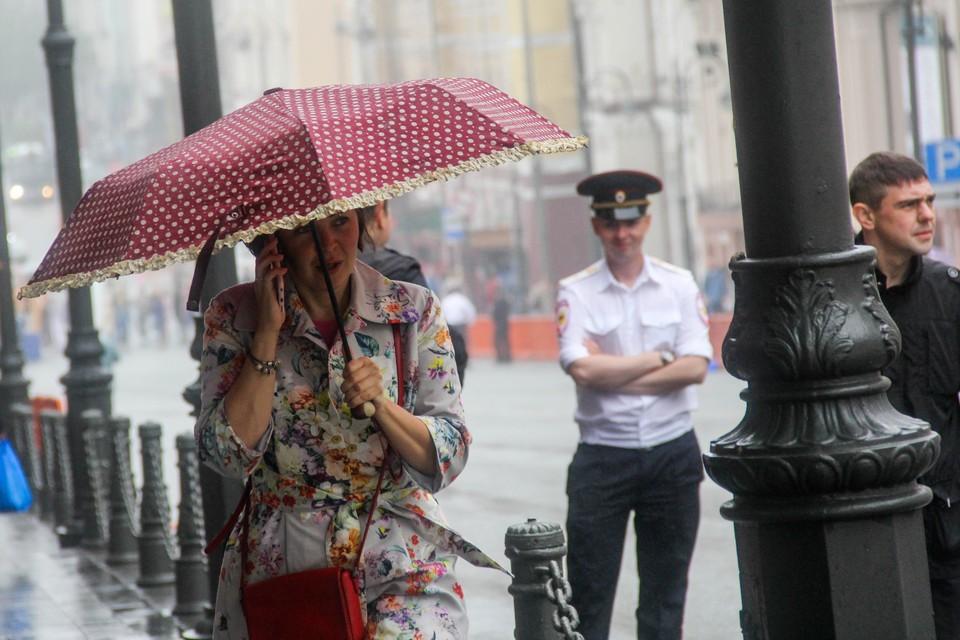 Дожди продлятся до среды