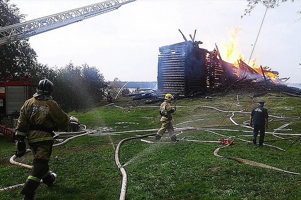 Предполагаемый поджигатель церкви в Кондопоге оказался сатанистом. Фото: Карельский колорит/vk.com
