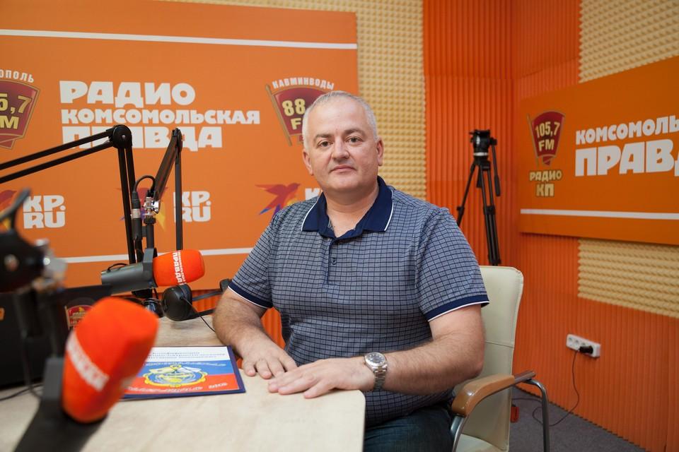 "Руководитель движения ""На волне патриотизма"" Николай Савостин"