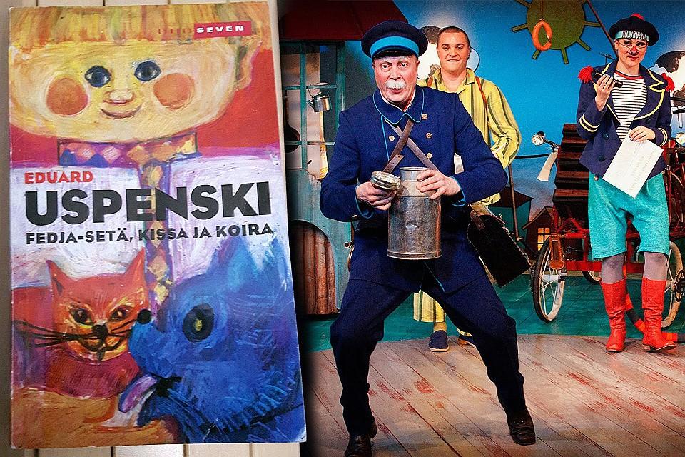 Финские читатели знакомы с героями Успенского с 1975 года.