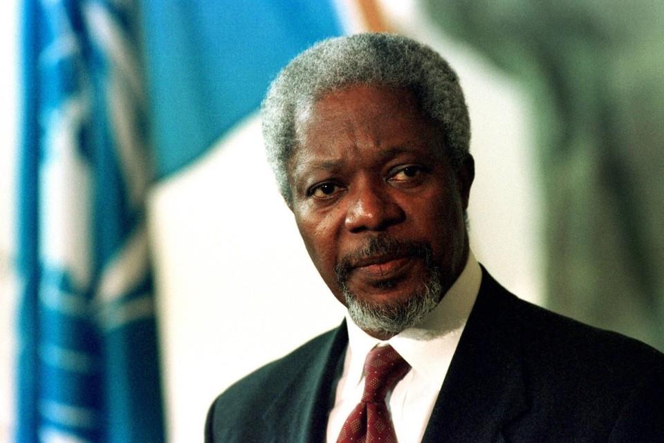 Бывший генеральный секретарь ООН Кофи Аннан