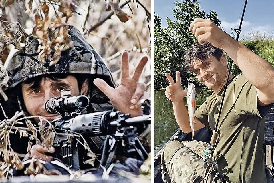 Деян Берич признается, что из-за последствий ранений просто физически не может оставаться на войне. А в мирной жизни считает, что любое занятие нестыдное. Фото: instagram.com/dejan_beric_deki
