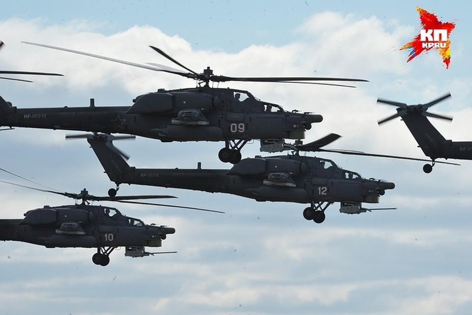 В «Ростехе» рассказали о госиспытаниях модернизированных вертолетов Ми-28НМ