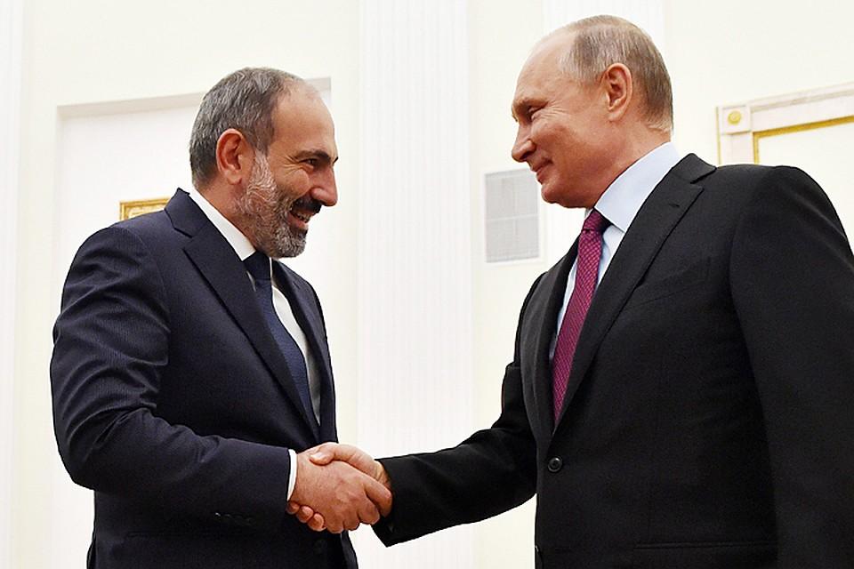 Путин поздравил армян