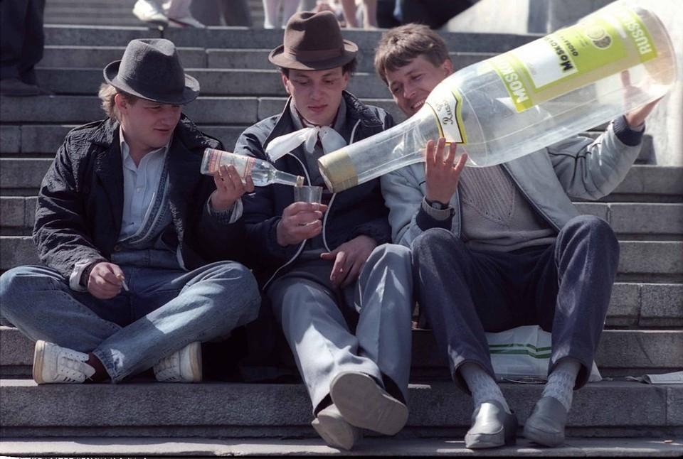 В России стали меньше употреблять алкоголь