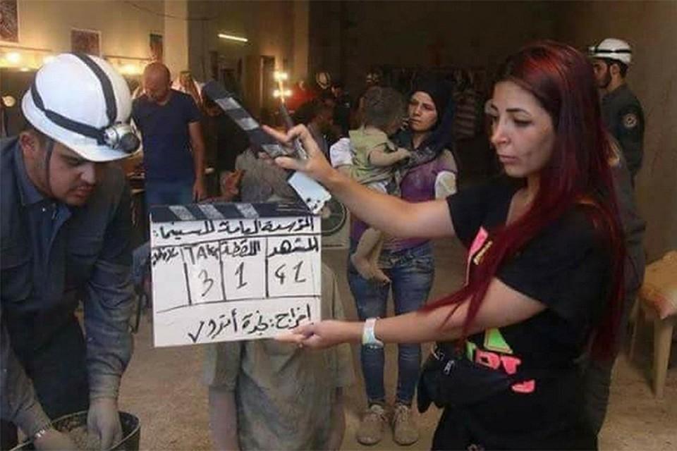 """В сирийском Идлибе начались съемки постановочной """"химатаки"""""""