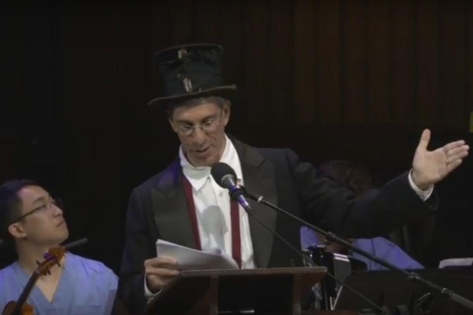 Церемония награждения лауреатов Шнобелевской премии прошла в Гарвардском университете.