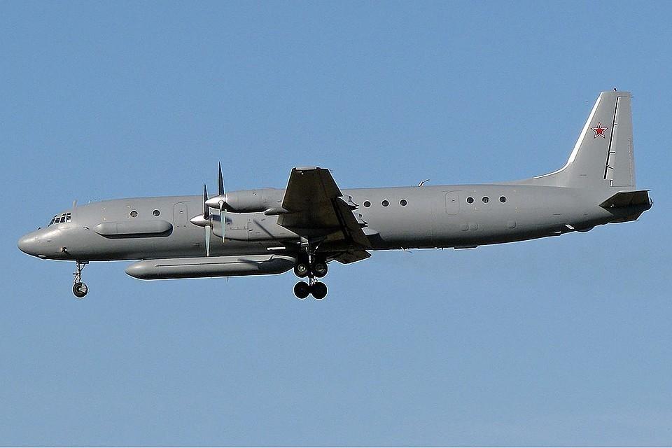 Самолет Ил-20 ВКС России.