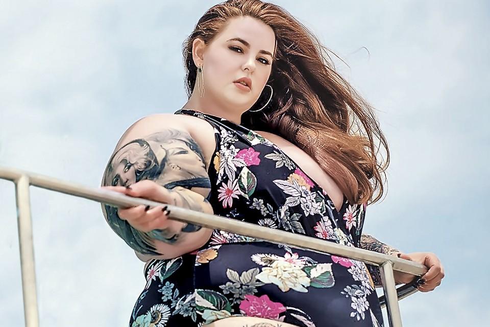 Тесс Холлидэй с гордостью носит титул самой крупной модели планеты. Фото: instagram.com/tessholiday