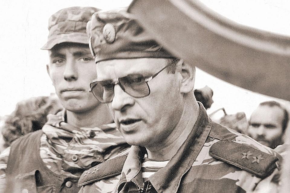 В 1995 году Анатолий Романов командовал группировкой федеральных сил в Чечне. Фото: Архив Росгвардии