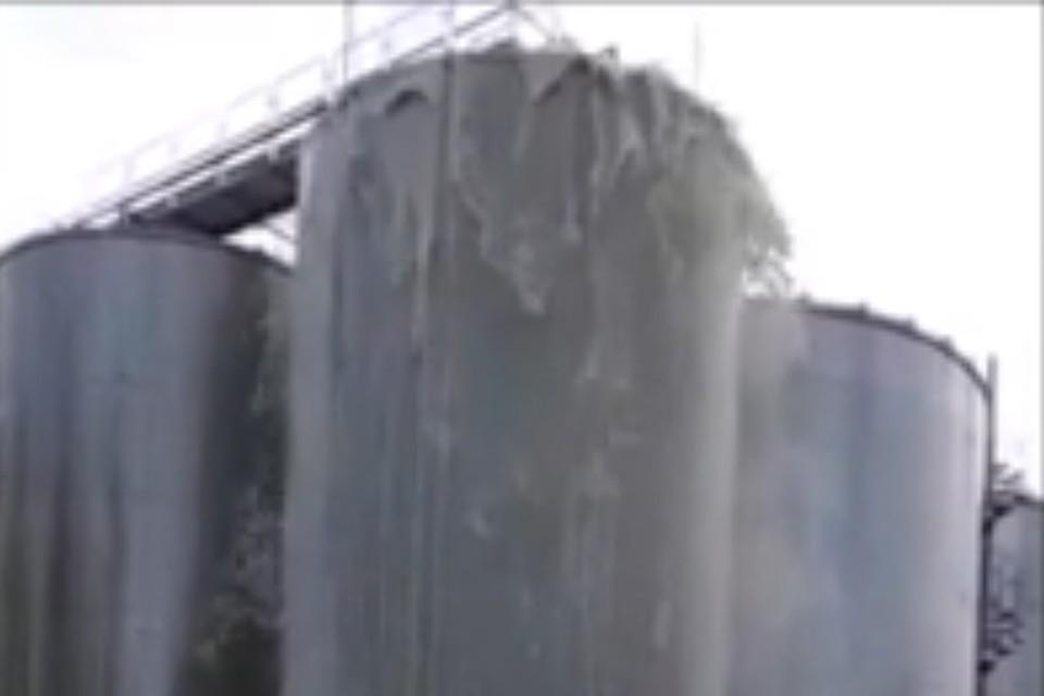 В итальянской Фонтанелле на одном из винзаводов произошел взрыв цистерны