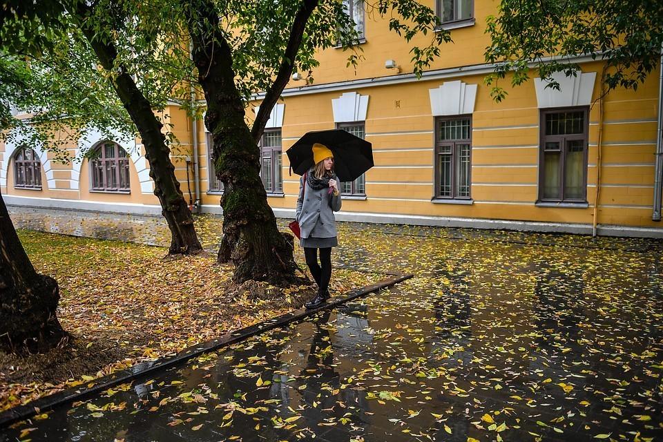 Погода в Москве 6 октября: Облачно с прояснениями, местами небольшой дождь