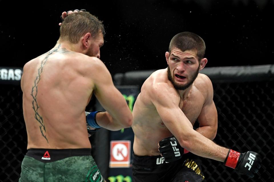 Хабиб Нурмагомедов и Конор Макгрегор сошлись в битве за титул чемпиона UFC