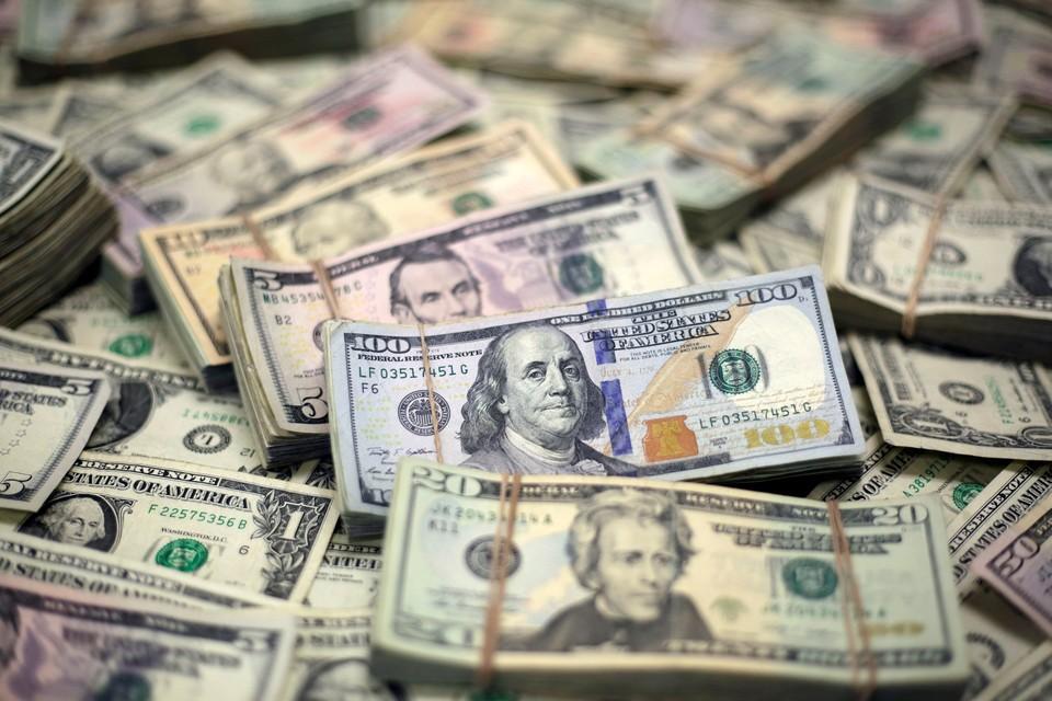 Курс доллара на Мосбирже вырос до 66,9 рубля