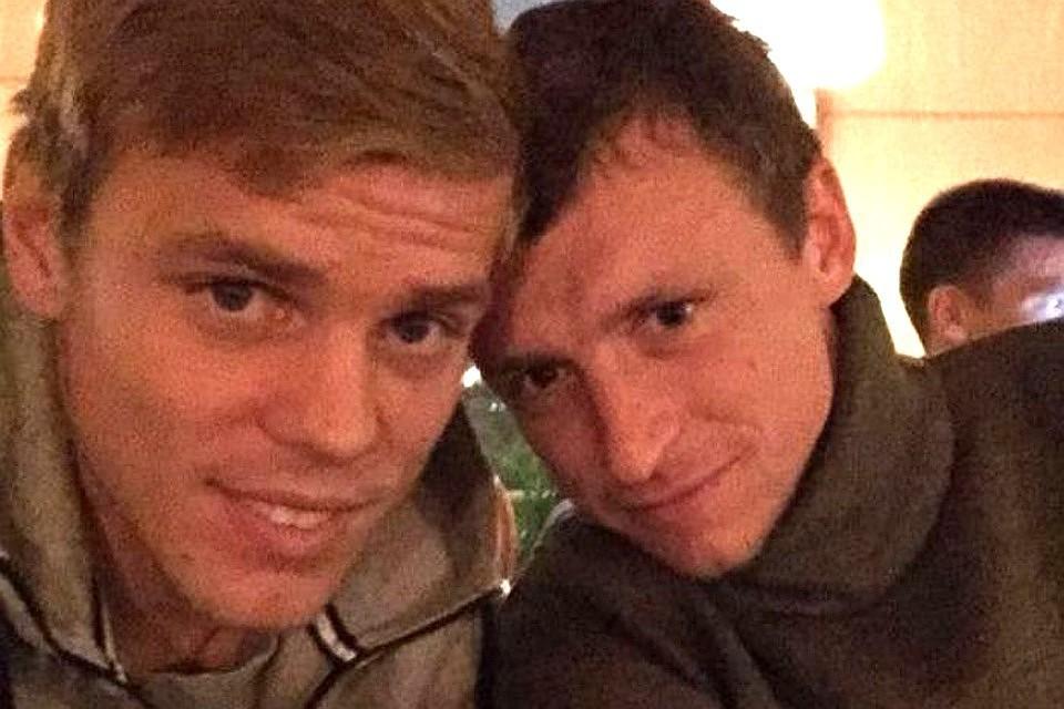 Полиция возбудила против Кокорина и Мамаева уголовное дело о хулиганстве