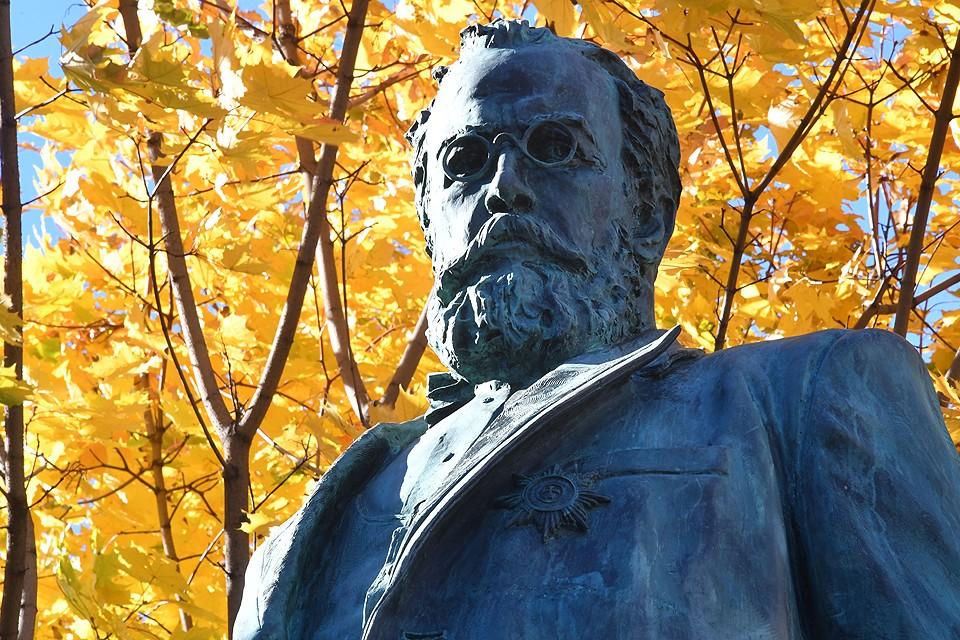 В Москве появился памятник Николая Склифосовскому.
