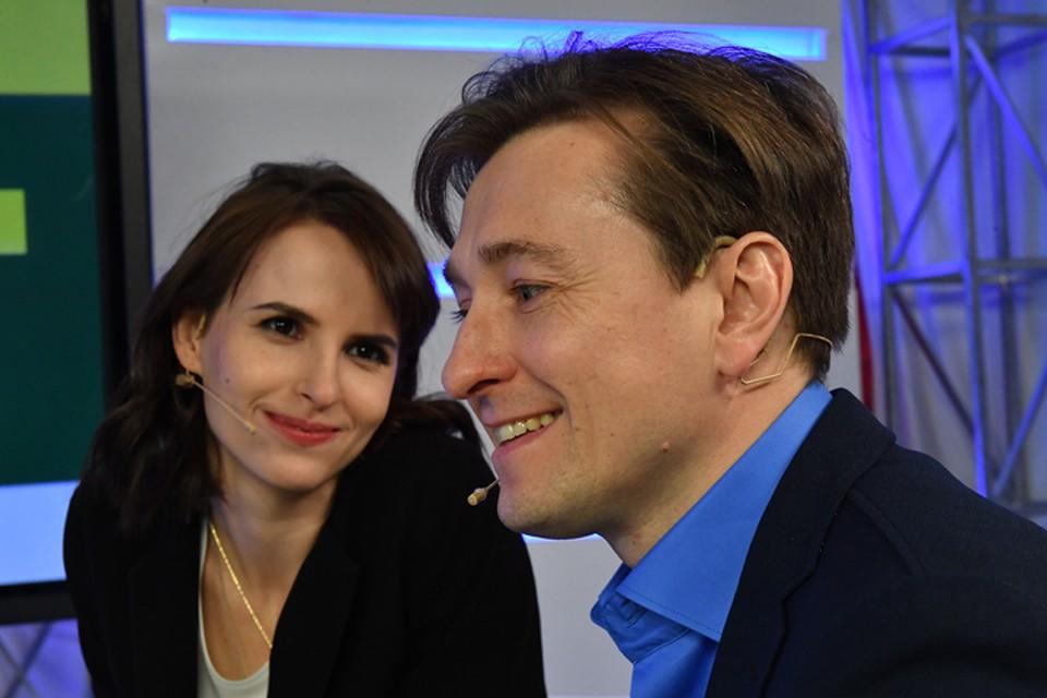 Сергей Безруков с супругой режиссером Анной Матисон