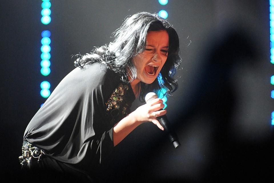 Певица Анастасия Приходько. Фото Григорий Сысоев ТАСС
