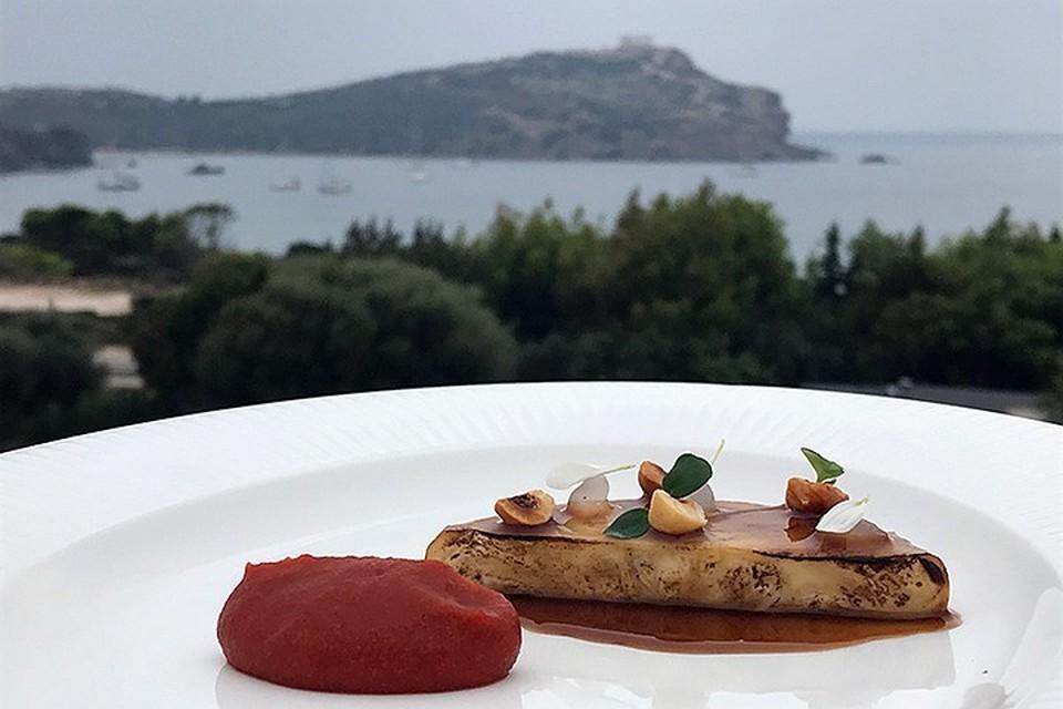 Пейзаж греческий, блюдо наше
