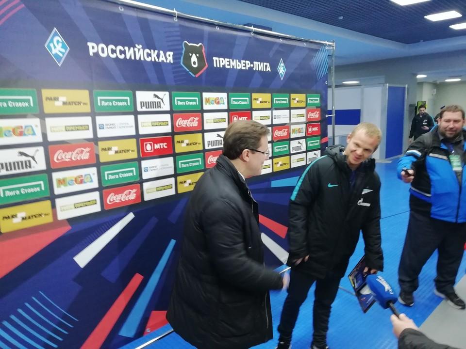 Футболист признался, что ему всегда приятно приезжать в родную Самару