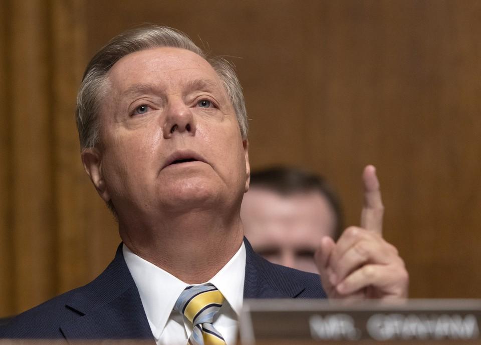 Сенатор-республиканец Линдси Грэм.