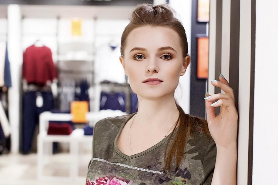 Екатерина учится на физмате, а теперь и участвует в конкурсе красоты. Фото: Даниил Леонтьев.