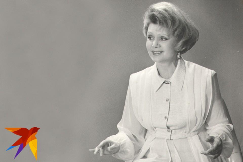 Зинаида Бондаренко была суперзвездой Белорусского телевидения, а ее «Гаворыць і паказвае Мінск!» стало символом эпохи. Фото: Личный архив