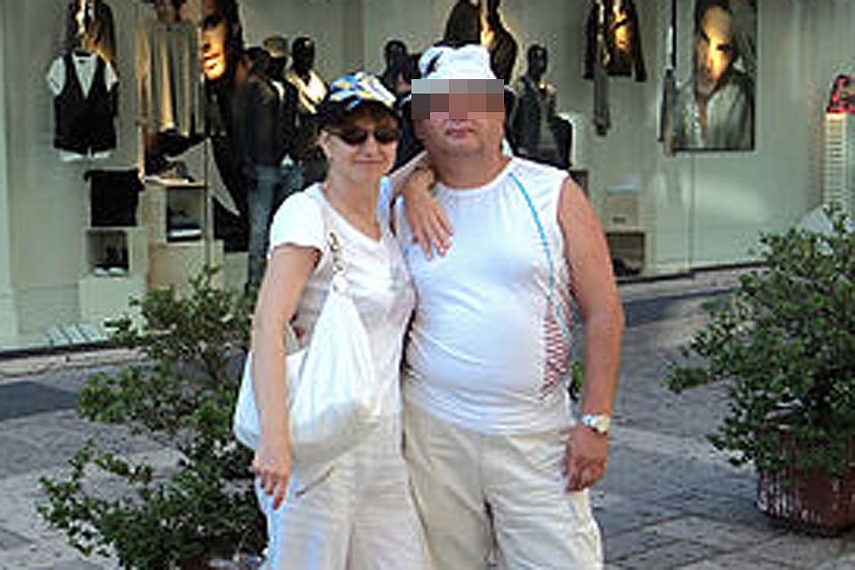 Фармацевт Оксана Фросина с мужем.
