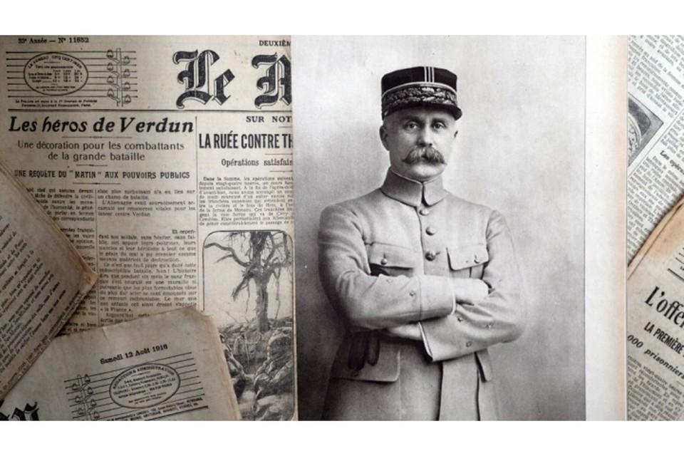 Во Франции неизвестные осквернили могилу маршала Первой мировой войны Анри Петена