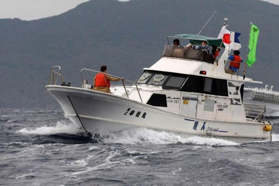 Сотрудники береговой охраны Японии сообщили, что все моряки спасены