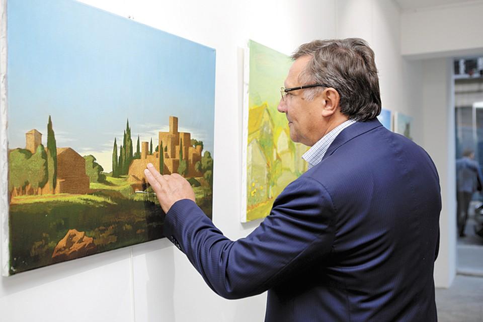 Известный бизнесмен и меценат Вячеслав Заренков продолжает традиции. Фото: Дмитрий Песочинский.