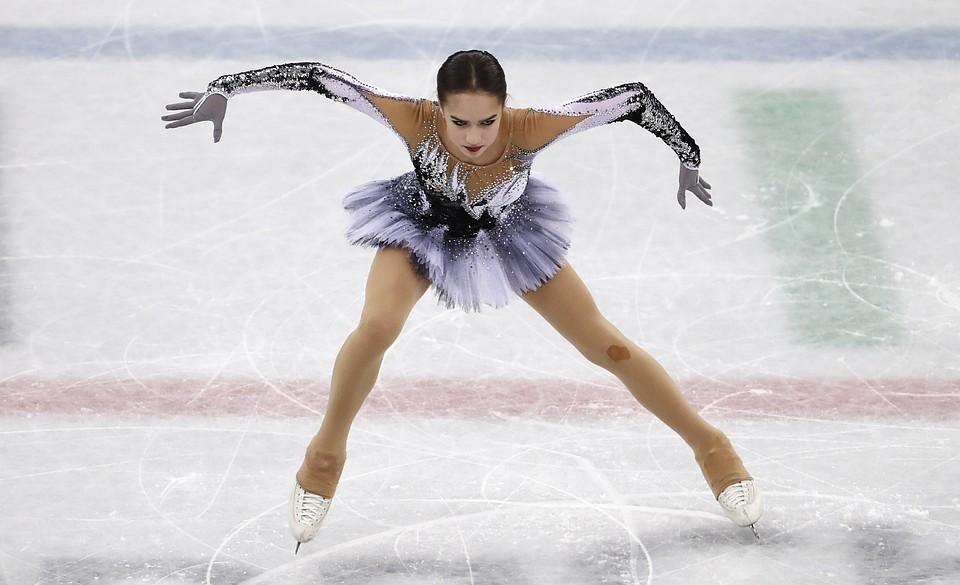 Олимпийская чемпионка 2018 года по фигурному катанию Алина Загитова