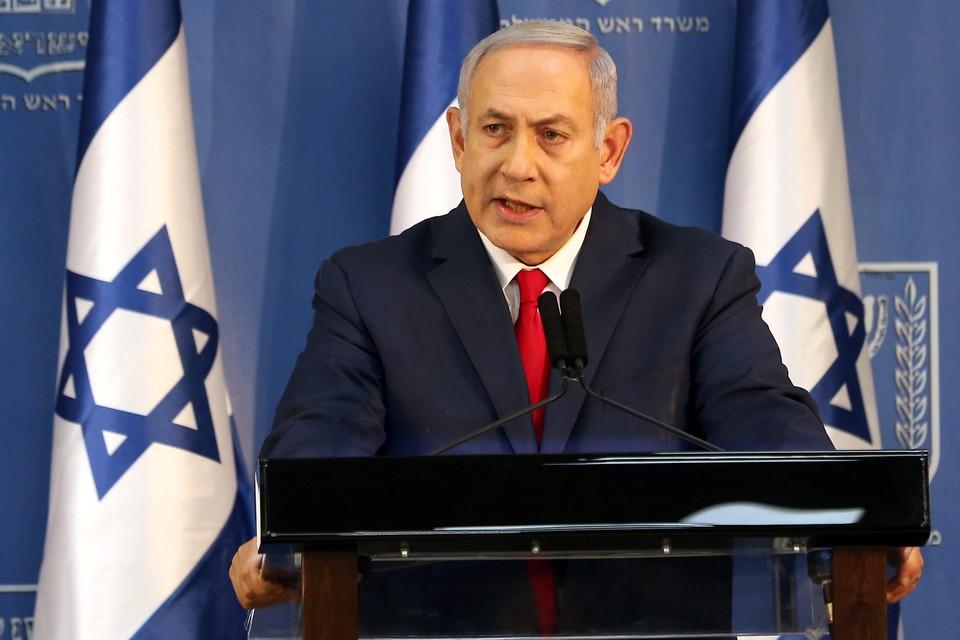 Премьер-министр и министр обороны Израиля Биньямин Нетаньяху.