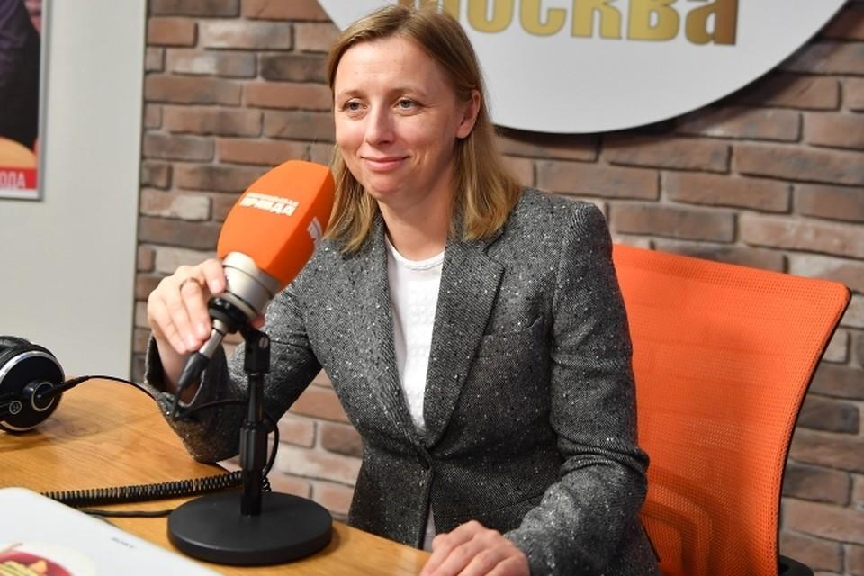 Замглавы Федеральной налоговой службы Светлана Бондарчук