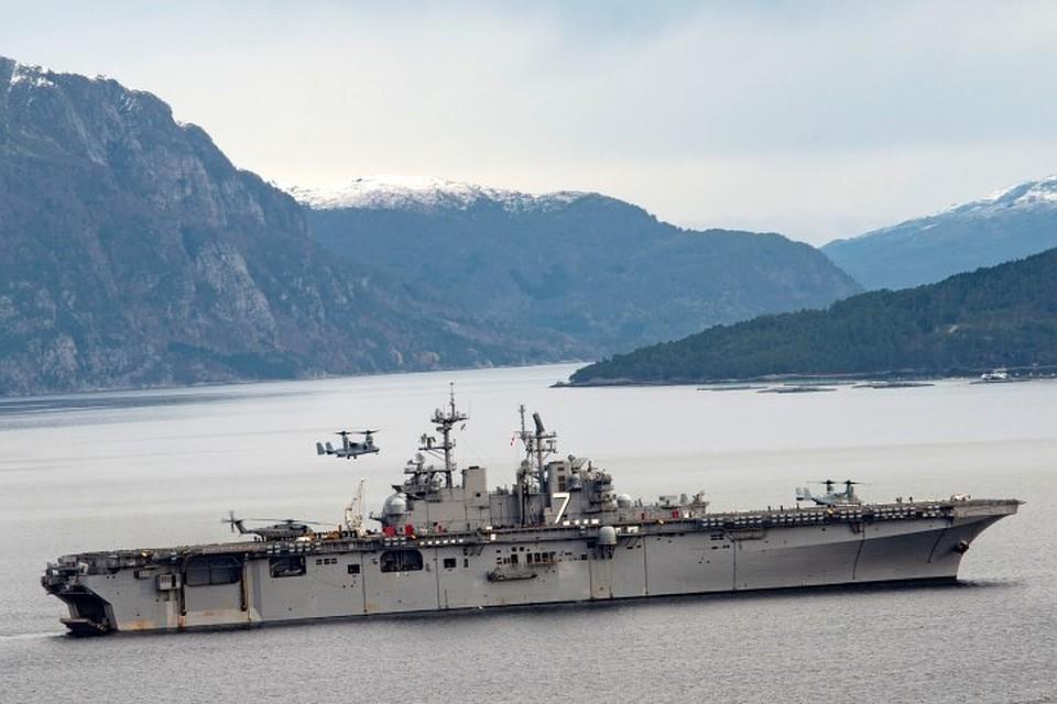 Авианесущий универсальный десантный корабль «Иводзими»