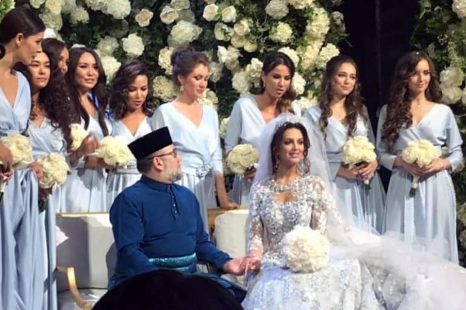 Торжество по случаю королевского бракосочетания устроили 22 ноября в комплексе Barvikha Concert Hall на Рублевке