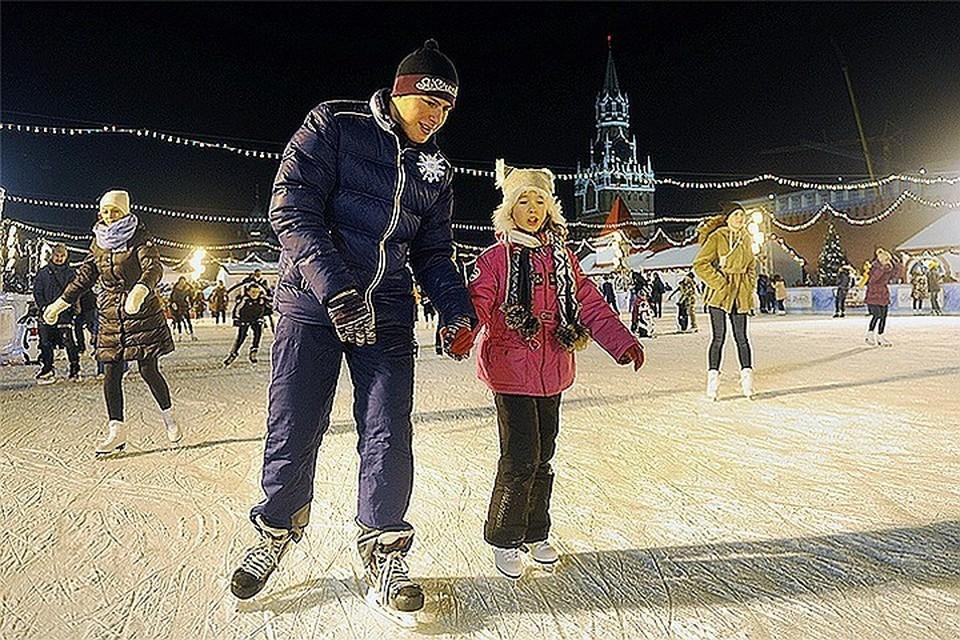 Каток на Красной площади откроют 9 декабря для добрых дел
