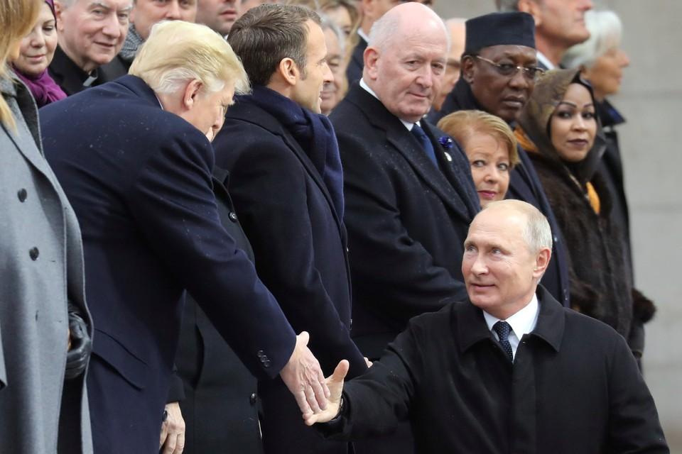 Стали известны темы переговоров Путина и Трампа