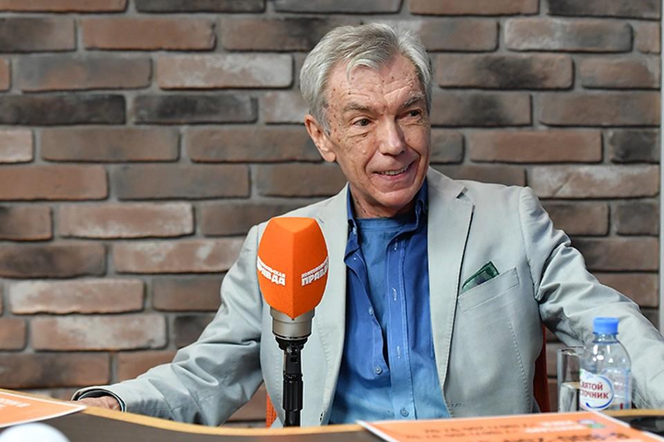 Юрий Николаев стал гостем радио «Комсомольская правда»