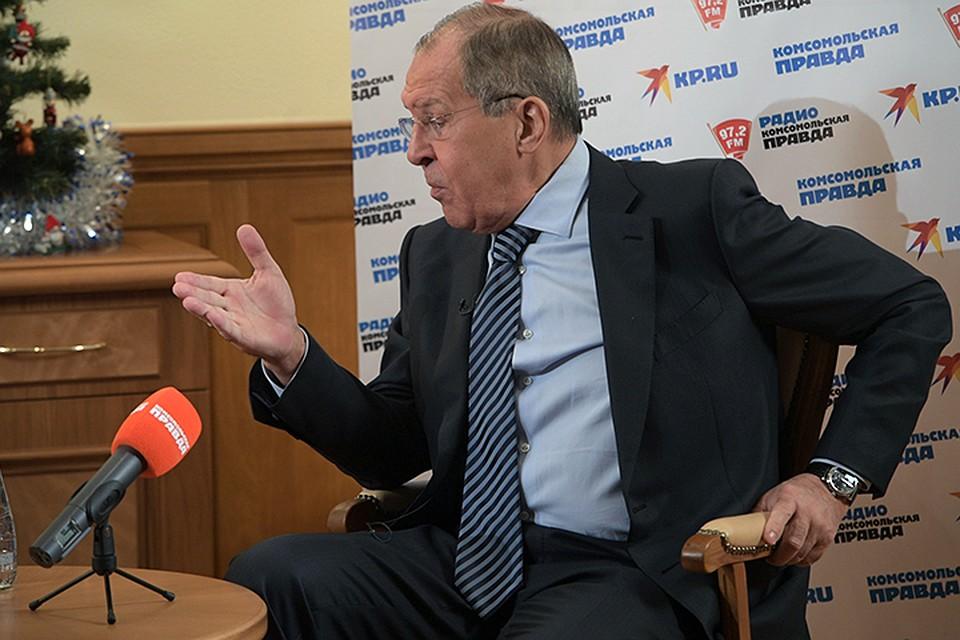 Лавров не согласился с тем, что РФ в Армении никогда не работала с оппозицией