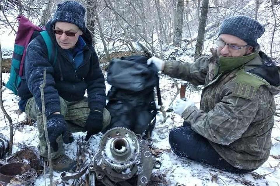 """Поисковики искали один бомбардировщик, а нашли совершенно другой. Фото: """"Авиапоиск"""""""