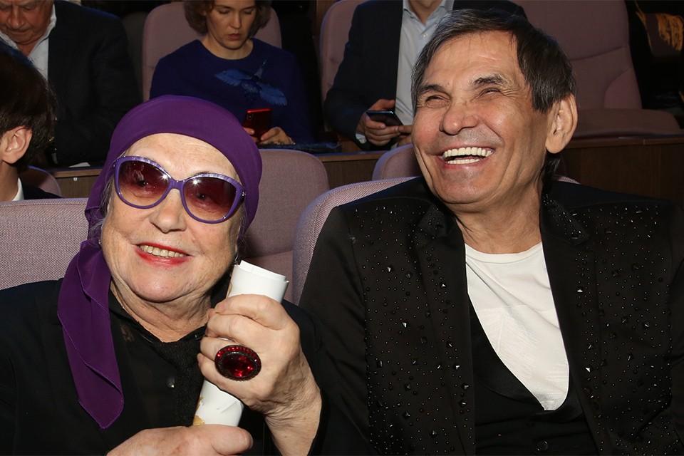 Бари Алибасов с Лидией Федосеевой-Шукшиной.