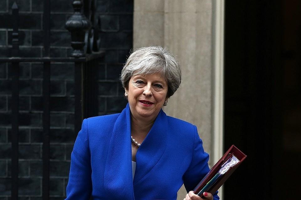 Посольство в Лондоне сожалеет о настрое Мэй против России