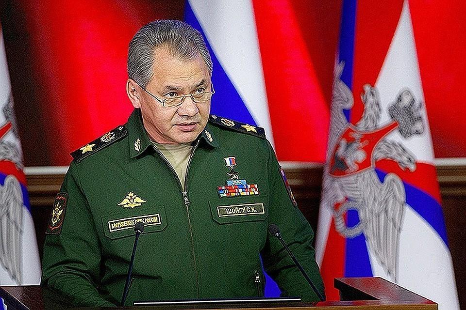 Сергей Шойгу рассказал о современном вооружении Фото: Минобороны России