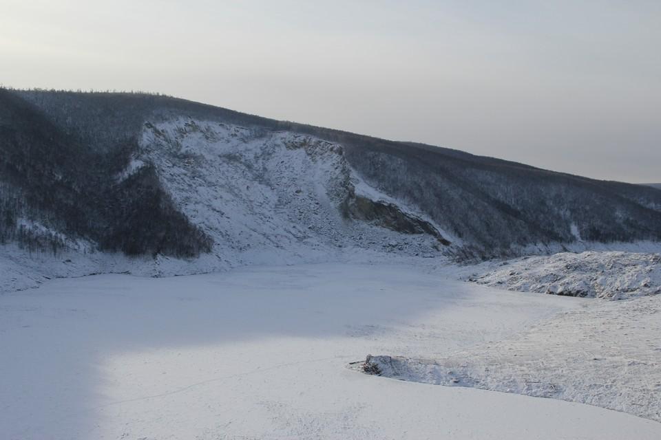 Обрушение сопки в Хабаровском крае может стать причиной весенних паводков