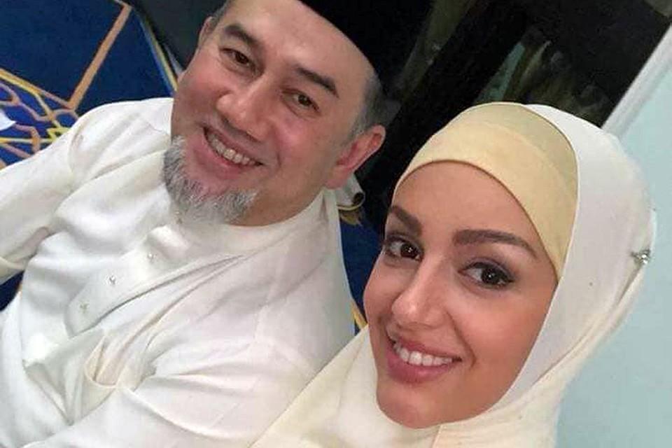 25-летняя ростовчанка Оксана Воеводина стала женой 49-летнего короля Малайзии Мухаммада V